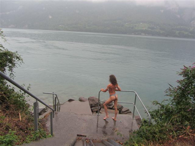 Swim Tour/In der Schweiz