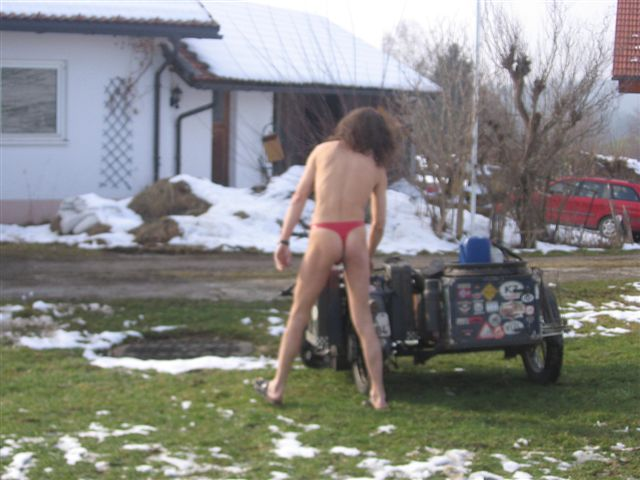 underwear Tour/Norwegen besuch