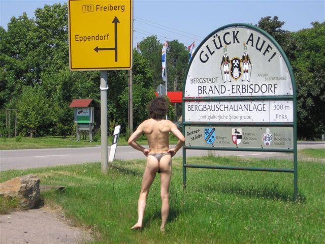thong bikini Tour/Sachsen Brand erb